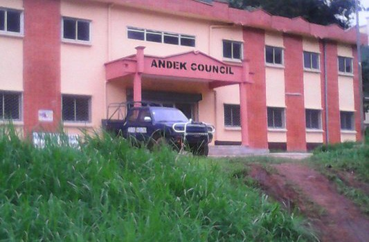 COMPLETED ANDECK COUNCIL BUILDING