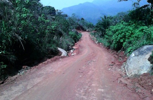 NEWLY CONSTRUCTED ROAD TO THE COUNCIL
