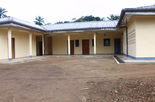 Completed Azem Health Centre