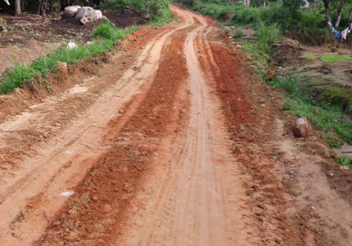 Rehabilitation of Andek-Teze Road by the Andek Council
