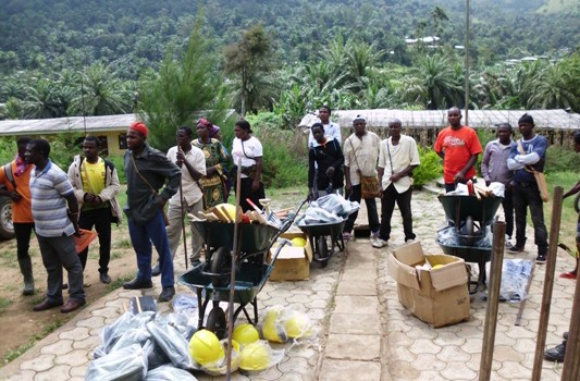 Road Maintenance equipment to communities by the council